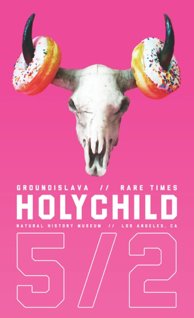 Holychild_Poster_Bull_logo_2