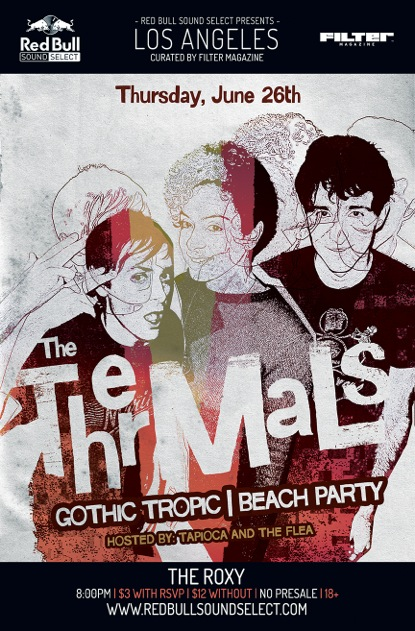 RBSS x The Thermals Flyer 5.5 x 8.5 for WEB