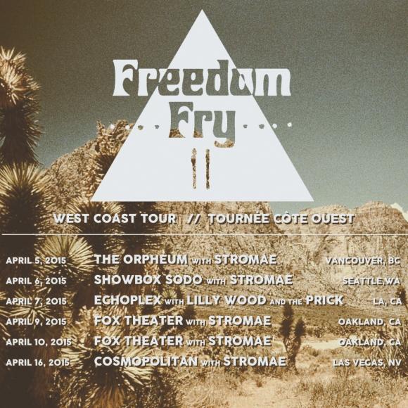 Freedom Fry w Stromae Tour
