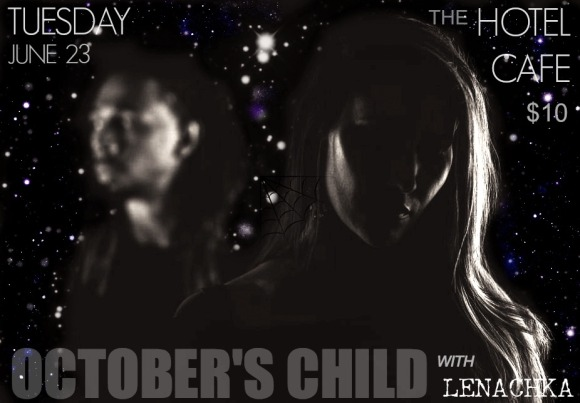October's Child-flyer