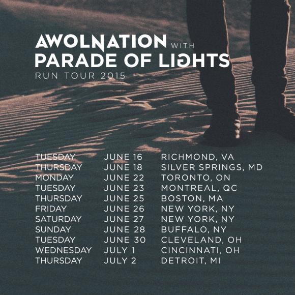 POL Awol tour announce